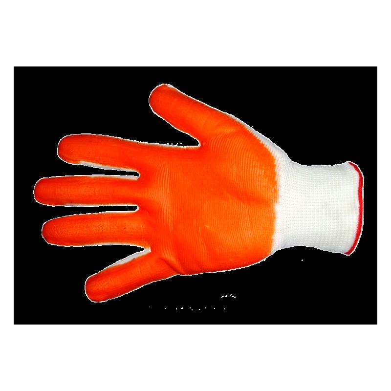 Перчатки нейлоновые с нитриловым покрытием ЭКОНОМ