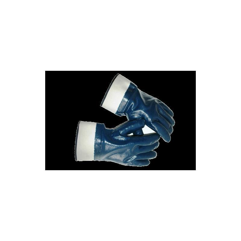 Перчатки нитриловые, манжет – крага