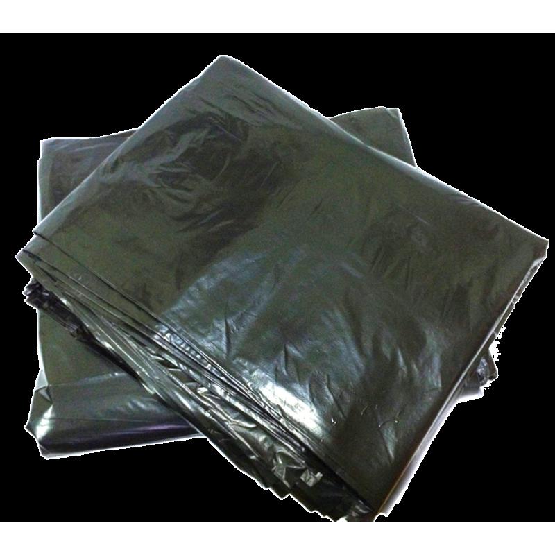 Мешки ПВД 120х160 (360 литров) 50 микрон с фальцами для строительного мусора и других хозяйственных нужд.