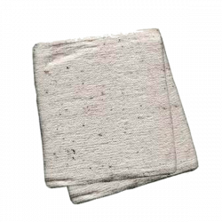 Тряпка для пола из ХПП 80х100 см, ГОСТ 14253-83, стежок 2.5 мм, края обшиты оверлоком.