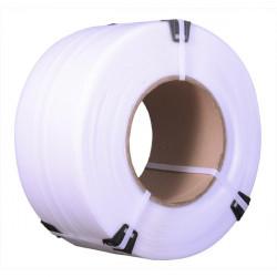 Лента полипропиленовая 15х0,8мм х 1400м белая